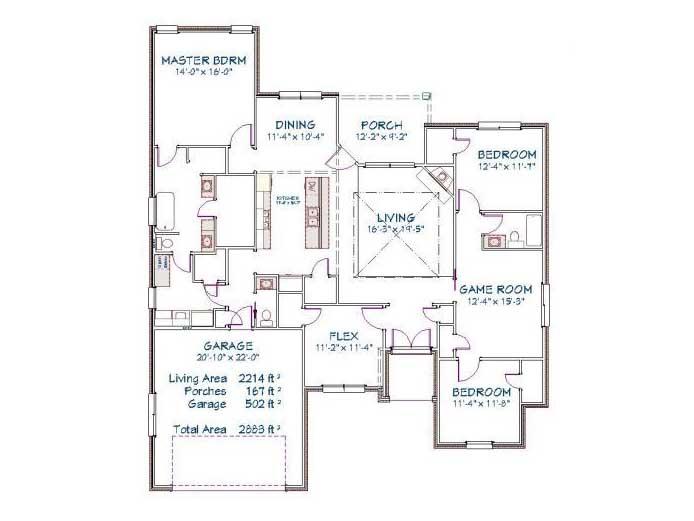 Plan 2510O – 2266 sqft