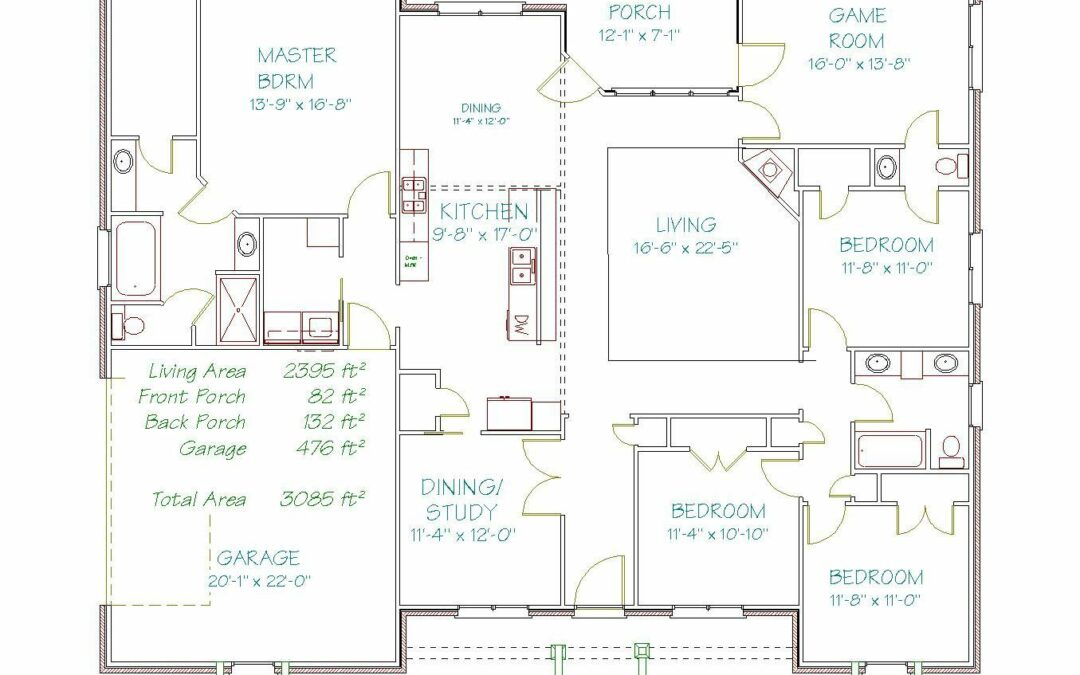 Plan 2608WM – 2395 sqft