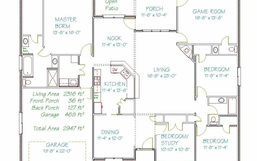 Plan 3118OB – 2316 sqft