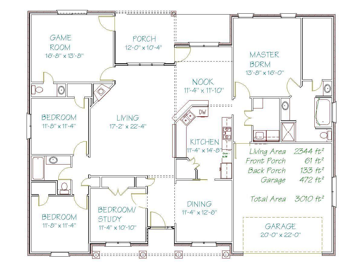 Plan 2069y 2344 Sqft Pyramid Homes