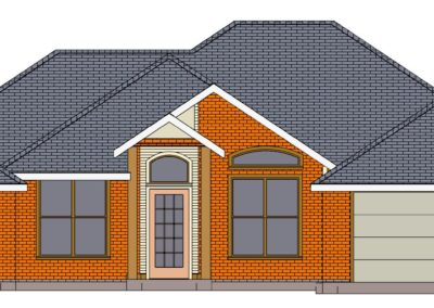 Home Builder Tyler Texas 2209 House front