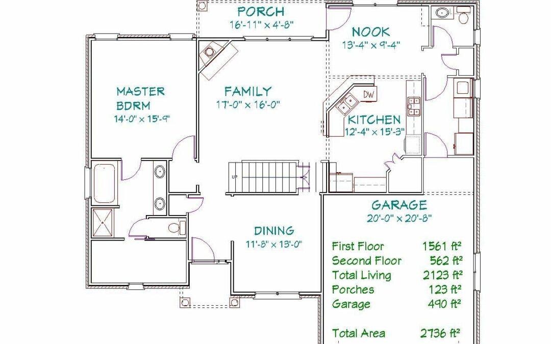 Plan 3106SP – 2126 sqft