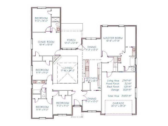 Plan 2511O – 2747 sqft