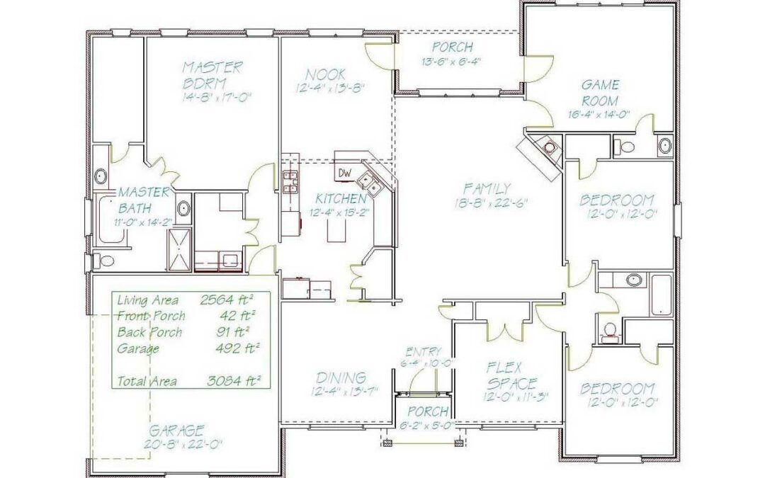 Plan 10985DC – 2564 sqft