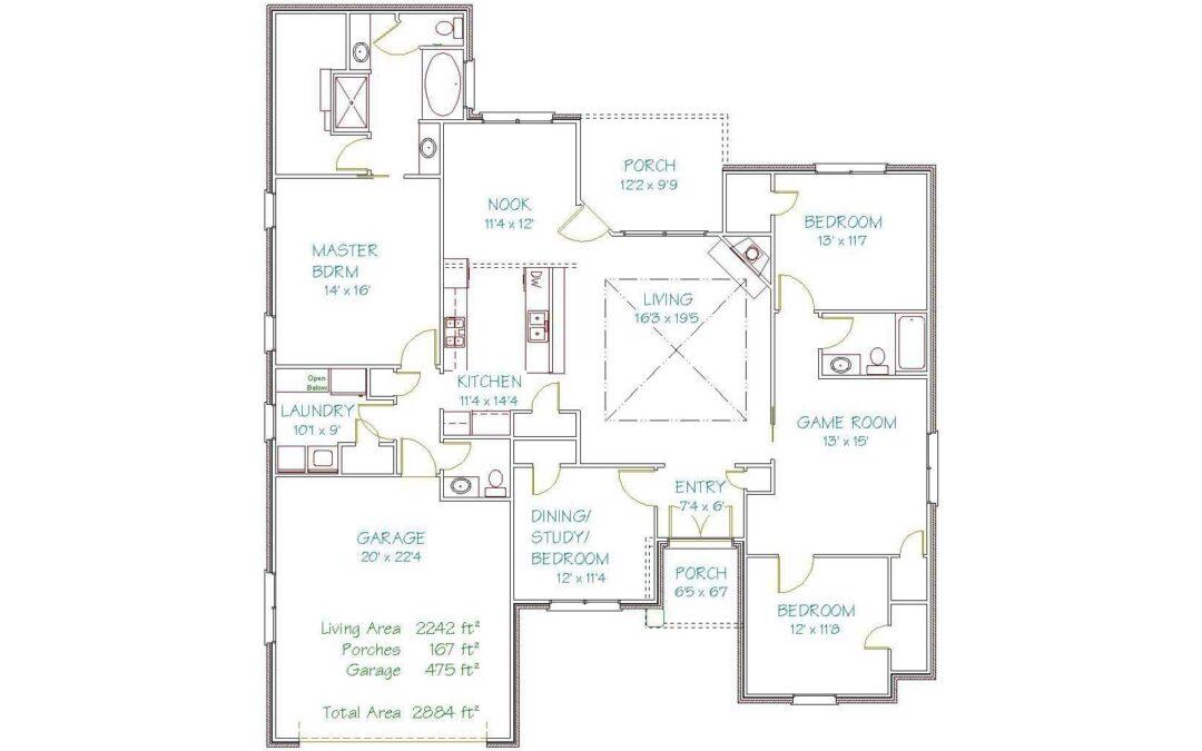 Plan 3041Y – 2242 sqft