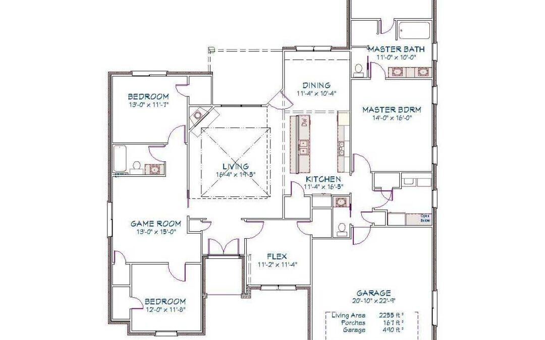 Plan 2519O – 2255 sqft