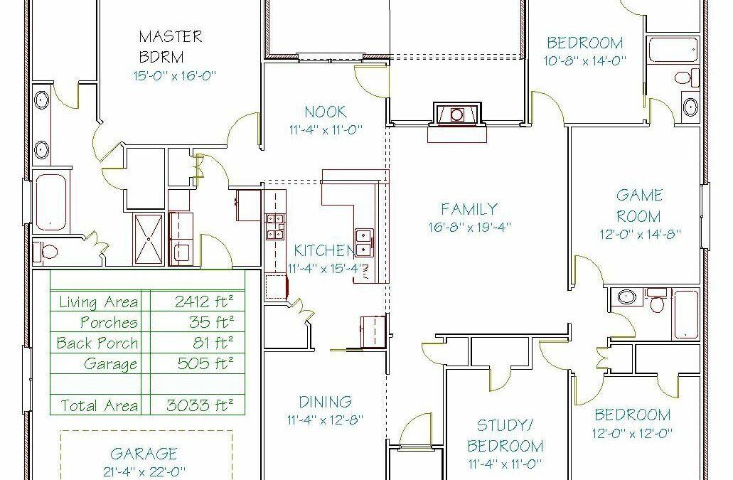 Plan 3061Y – 2412 sqft