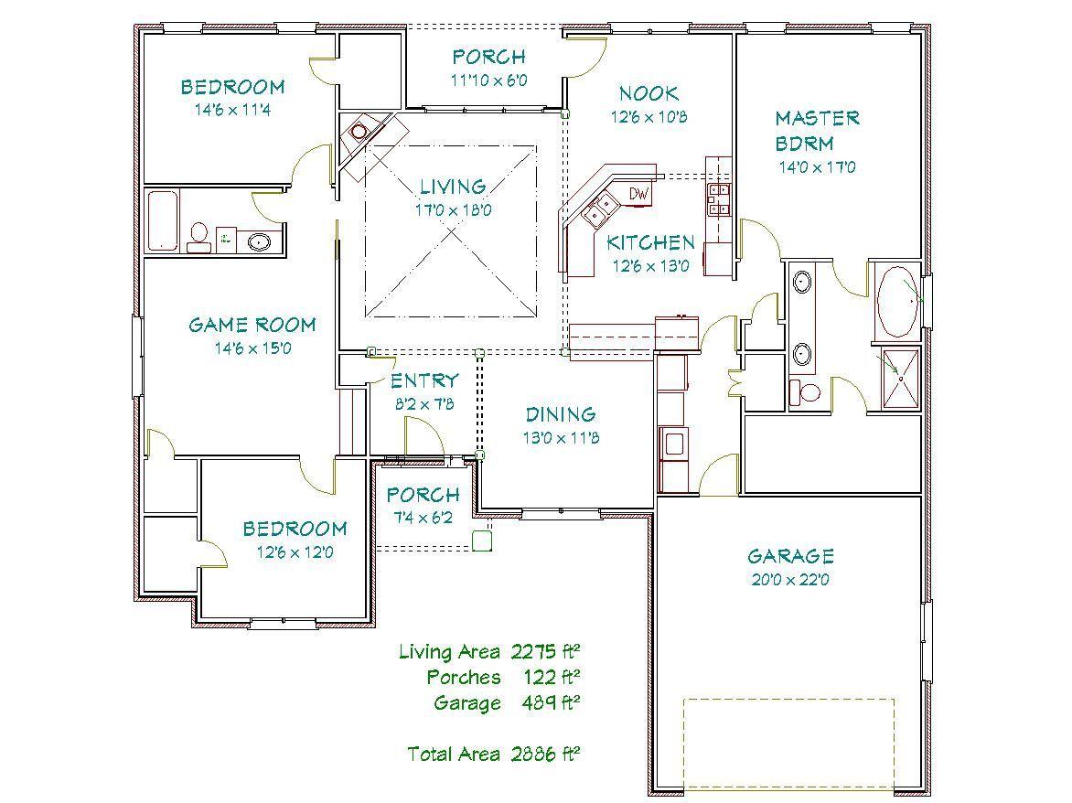 Plan 2061y 2275 Sqft Pyramid Homes Home Builders