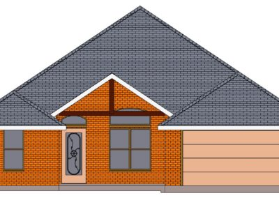Home Builder Tyler Texas 2502 House Front