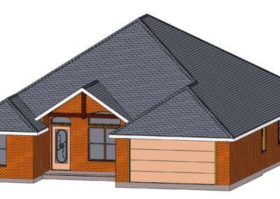 Home Builder Tyler Texas 2502 House Top Front