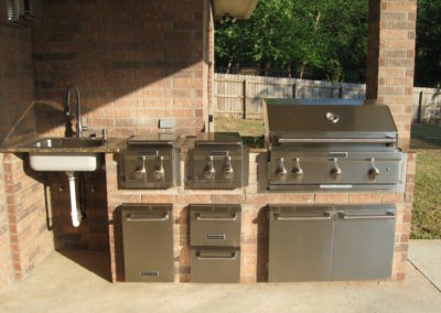 Home Builder Tyler Texas Custom Features Gallery Sajid Outdoor Kitchen