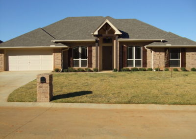 Home Builder Tyler Texas Exteriors Gallery 19478 FE1