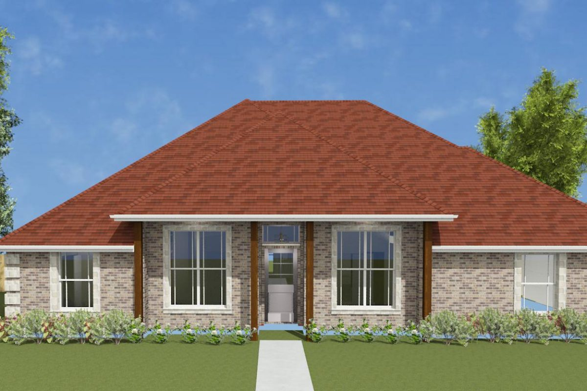 2406ft² with Covington Brick (Brown_Beige)