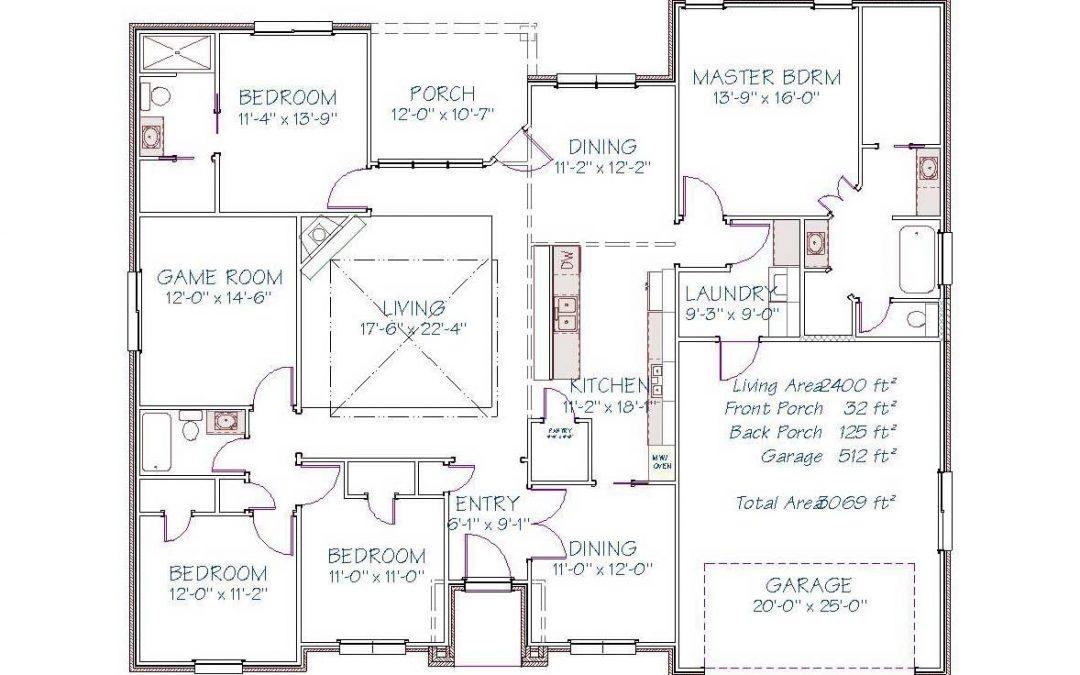 Plan 2507 Oasis Drive – 2400 sqft